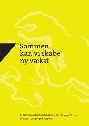 Sammen kan vi skabe ny vækst - Sønderborg Erhvervs- og ...