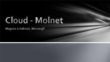 Magnus Lindkvist, Microsoft