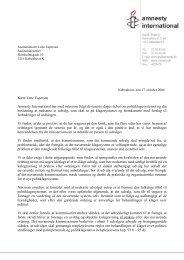 Download brev af 17. oktober 2006 til justitsministeren - Amnesty ...