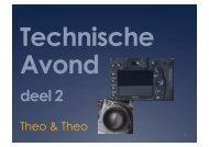 Technische Avond (Theo&Theo) deel 2