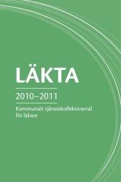 Kommunalt tjänstekollektiv avtal för läkare - Kommunarbetsgivarna.fi