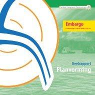 Deelrapport 3: Planvorming - Binnenlands Bestuur