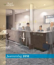 Jaarverslag 2010 - Binnenlands Bestuur