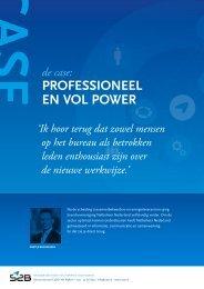 PROFESSIONEEL EN VOL POWER - VM Online