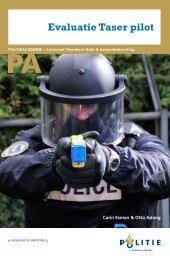 Evaluatie Taser pilot - Politieacademie