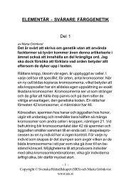 del 1 - Svenska Råttsällskapet