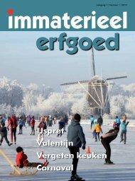immaterieel erfgoed 2012 1 - Nederlands Centrum voor Volkscultuur