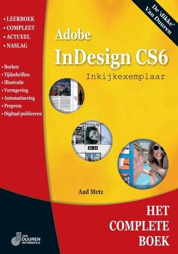 Adobe InDesign CS6 - metz 'opleidingen & trainingen'