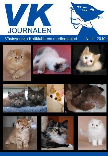JOURNALEN - Västsvenska Kattklubben