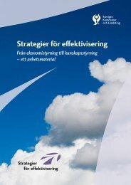 Strategier för effektivisering - Väntetider i Vården