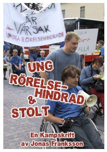 Ung, Rörelsehindrad & Stolt - Förbundet Unga Rörelsehindrade