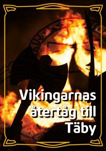 Broschyr Vikingarnas återtåg till Täby