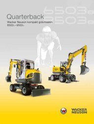 Quarterback - Wacker Neuson