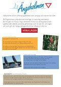 Är du intresserad av segling, paddling, friluftsliv ... - Ängsholmen - Page 3
