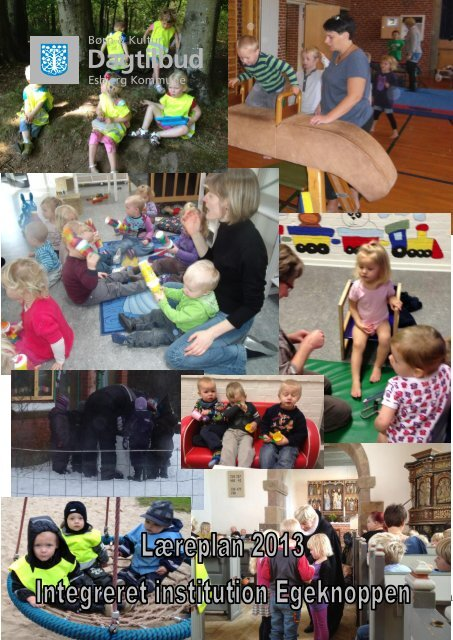 Læreplan for de 0 til 2 årige. - Egeknoppen - Esbjerg Kommune