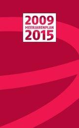 meerjarenplan 2009-2015 (pdf) - RISO-antwerpen