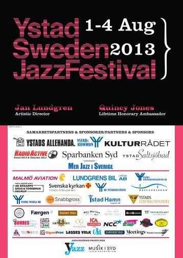 Eller klicka här! - Ystad Sweden Jazz Festival