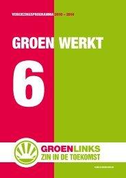 GroenLinks Almelo Verkiezingsprogramma 2010-2014