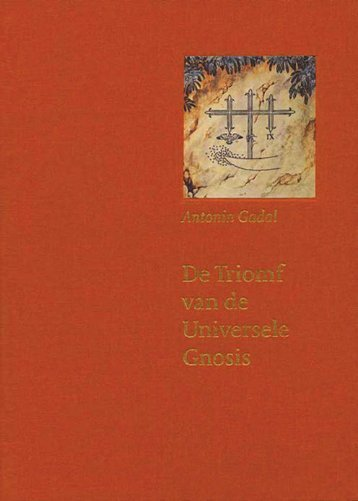 De triomf van de universele gnosis - Bibliotheca Philosophica ...