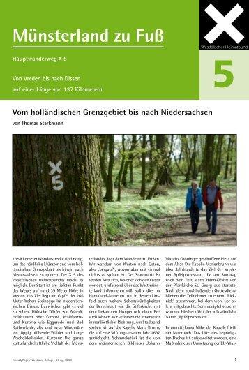 Münsterland zu Fuß