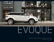 EVOQUE PREISE - Land Rover