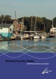 Kadernota Toerisme en Recreatie - Gemeente Den Helder