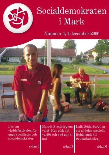 Socialdemokraten i Mark - S-info