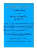 Hemsidan, Aktuella soloprogram.odt - Olov Franzén - Page 3