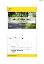 Andel behöriga till nationellt program - Pedagog Stockholm