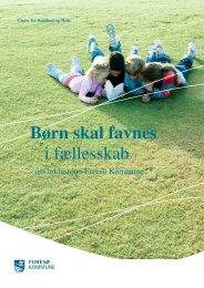 Børn skal favnes i fællesskab - en folder om ... - Furesø Kommune