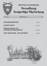 2010 nr. 1 - Svendborg Borgerlige Skyttelaug