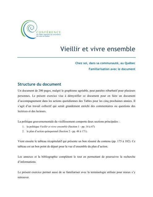 Vieillir Et Vivre Ensemble La Table Des Ainees Et Des Aines De