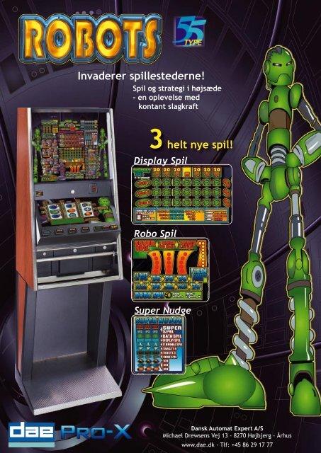 Jack-Pot bladet.indd - Dansk Automat Brancheforening: DAB