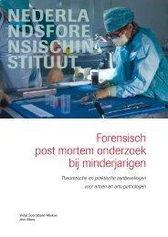 Forensisch post mortem onderzoek bij minderjarigen - Nederlands ...