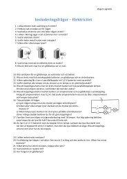 Instuderingsfrågor – Elektricitet - lagnebo.se