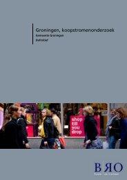 Koopstromenonderzoek 2010 - Gemeente Groningen