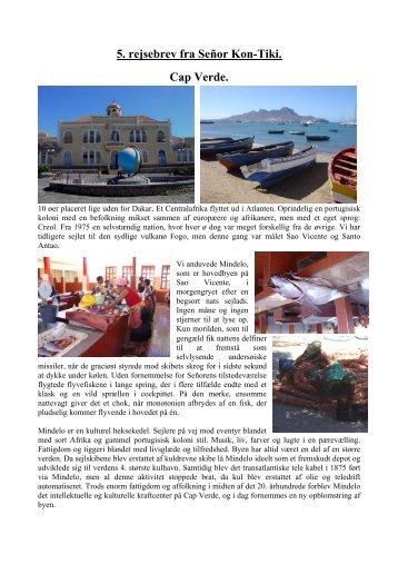 Brev nr. 5 - Cap Verde - Faaborg Sejlklub