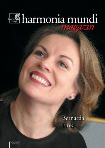 magazin - Harmonia Mundi
