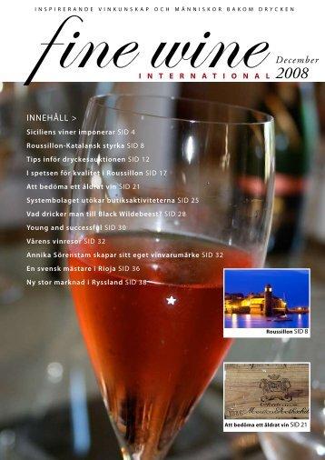 Finewine nr4 (sv) - Fine wine magazine