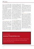 Finewine nr4 (sv) - Fine wine magazine - Page 7