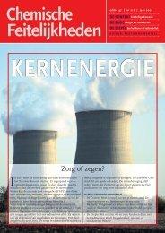 kernenergie - Chemische Feitelijkheden