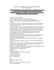 • Wet van 19 december 2006 tot wijziging van de artikelen 1 en 2 ...