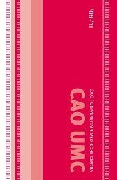 Cao UMC 2008-2011 - Cmhf