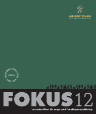 Fokus 12 - Ungdomsstyrelsen
