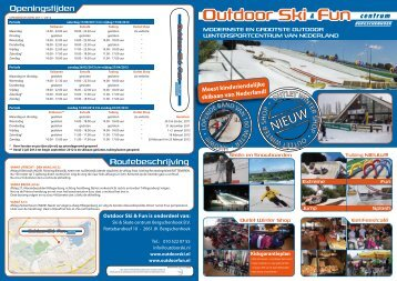 Pagina 8&1 - Outdoorski