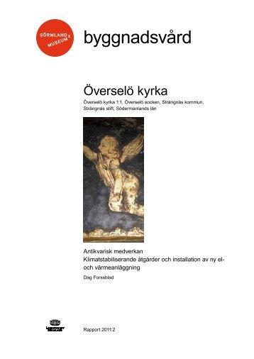 Överselö kyrka - Sörmlands museum
