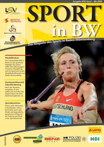Download Sport in bw Nr. 08/09 - Badischer Sportbund Nord ev