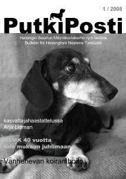 Vanhenevan koiran hoito - Helsingin Seudun Mäyräkoirakerho