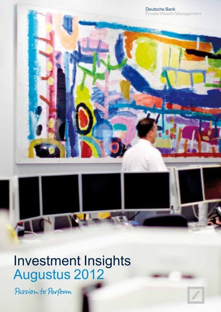 Investment Insights Augustus 2012