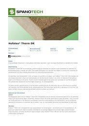 Hofatex® Therm DK - Passiefhuis Platform